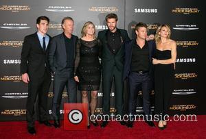 Liam Hemsworth, Luke Hemsworth , family - Celebrities attend Premiere Of Lionsgate's