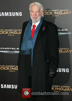 Donald Sutherland - Celebrities attend Premiere Of Lionsgate's