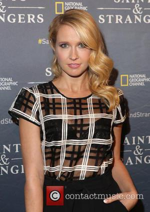Anna Camp - National Geographic Channel's Saints & Strangers Pub 1620 grand opening - Arrivals - New York City, New...