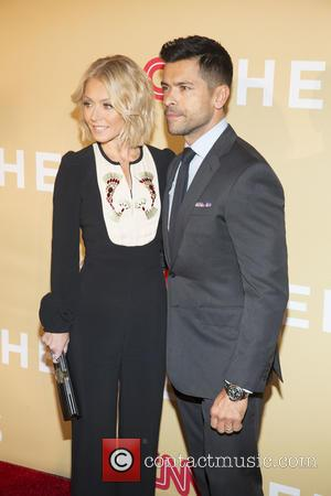 Kelly Ripa and Mark Cosuelo
