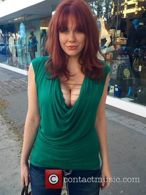 Maitland Ward - Maitland Ward has lunch at The Ivy before going shopping on Robertson Boulevard at Robertson Bl. -...