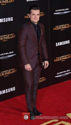 Josh Hutcherson - Los Angeles premiere of 'The Hunger Games: Mockingjay - Part 2' at the Microsoft Theater - Arrivals...