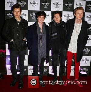The Vamps - Pixie Lott music showcase at the Hard Rock cafe - London, United Kingdom - Tuesday 17th November...