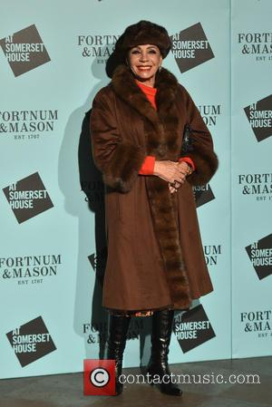 Dame Shirley Bassey - Skate at Somerset House with Fortnum & Mason - opening party & VIP launch at Somerset...