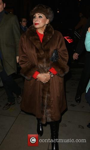 Dame Shirley Bassey - Skate at Somerset House with Fortnum and Mason VIP launch - Outside at Somerset House -...