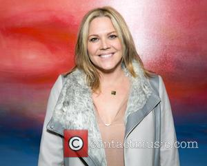 Mary McCormack - Celebrities attend Steve Janssen's Brain Change one night solo exhibition at De Re Gallery. at De Re...