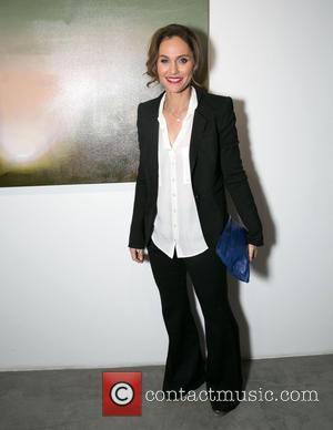 Amy Brenneman - Celebrities attend Steve Janssen's Brain Change one night solo exhibition at De Re Gallery. at De Re...