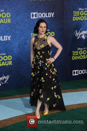 Anna Paquin - Los Angeles premiere of 'The Good Dinosaur' at the El Capitan Theatre - Arrivals - Los Angeles,...