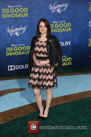 Joey King - Los Angeles premiere of 'The Good Dinosaur' at the El Capitan Theatre - Arrivals - Los Angeles,...
