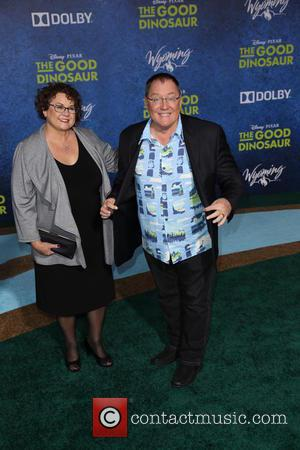 John Lasseter - Los Angeles premiere of 'The Good Dinosaur' at the El Capitan Theatre - Arrivals - Los Angeles,...