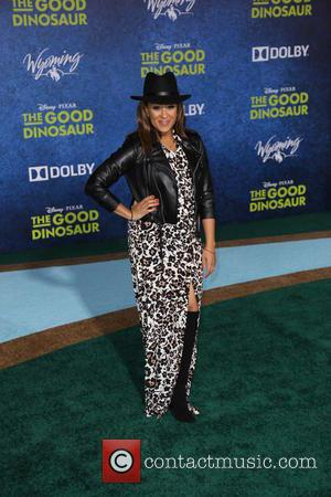 Tamera Mowry - Los Angeles premiere of 'The Good Dinosaur' at the El Capitan Theatre - Arrivals - Los Angeles,...