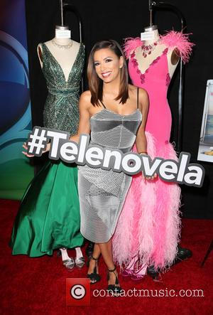 Eva Longoria - NBC Comedy Press Junket Red Carpet For Telenovela and Superstore at NBCUniversal Studio - Hollywood, California, United...