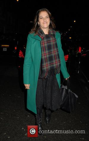 Tracey Emin - Burberry and Claridge's Christmas Tree Launch Party at Claridge's - London, United Kingdom - Wednesday 18th November...