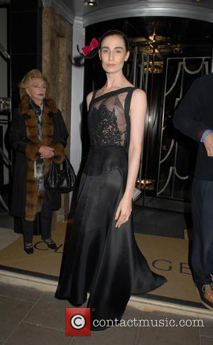 Erin O'Connor - Burberry and Claridge's Christmas Tree Launch Party at Claridge's - London, United Kingdom - Wednesday 18th November...