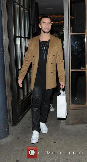 Nick Grimshaw, Mason Noise , Che Chesterman - Nick Grimshaw seen leaving Shoreditch House with his X Factor boys Mason...