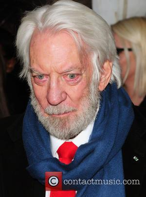 Donald Sutherland - 'The Hunger Games: Mockingjay - Part 2' special screening at AMC Lincoln Square - Arrivals - New...