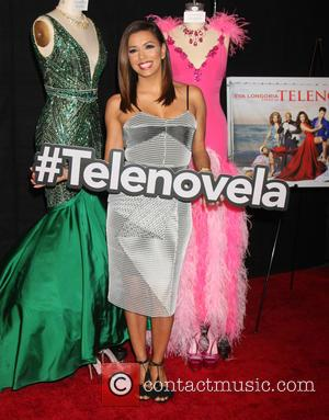 Eva Longoria - NBC Universal Comedy Press Junket for Telenovela and Superstore - Arrivals at Universal Studios - Los Angeles,...