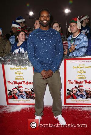 Baron Davis - Los Angeles premiere of 'The Night Before' at the ACE Hotel - Arrivals at The ACE Hotel...