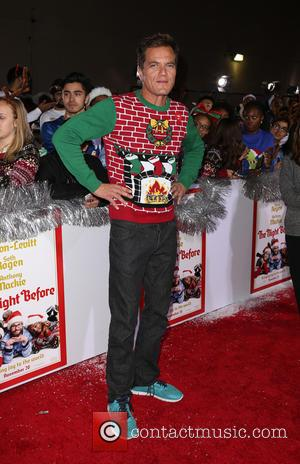 Michael Shannon - Los Angeles premiere of 'The Night Before' at the ACE Hotel - Arrivals at The ACE Hotel...