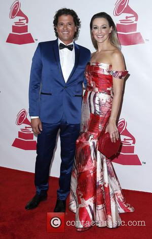Carlos Vives and Claudia Elena