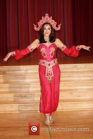 Priscilla Presley - Aladdin - press launch held at Milton Keynes Theatre - Arrivals - London, United Kingdom - Wednesday...