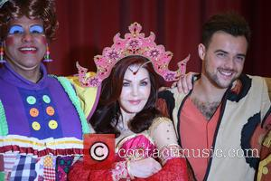 Gary Wilmot, Priscilla Presley and Ben Adams