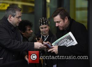 Simon Le Bon - Two band members of Duran Duran Simon Le Bon and John Taylor at the BBC Breakfast...