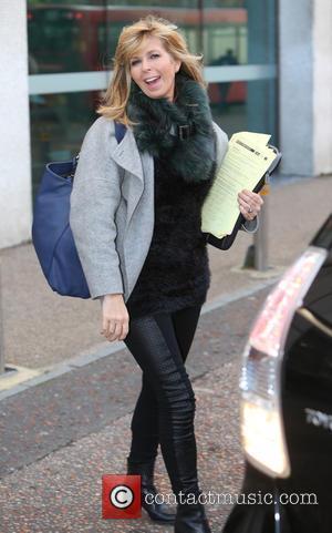 Kate Garraway - Kate Garraway outside ITV Studios - London, United Kingdom - Wednesday 18th November 2015