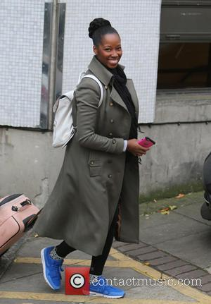 Jamelia - Jamelia outside ITV Studios - London, United Kingdom - Wednesday 18th November 2015