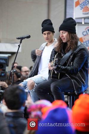 Justin Bieber and Dan Kanter