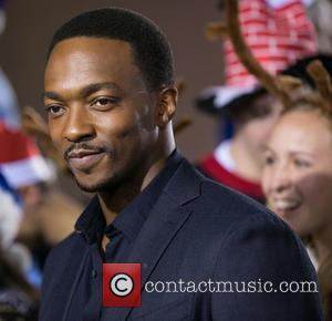 Anthony Mackie - Celebrities attend Los Angeles World Premiere of 'The Night Before' at The Theatre at The ACE Hotel...