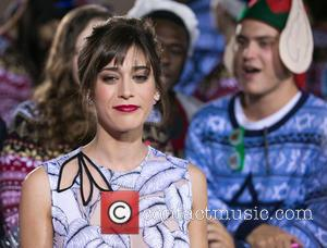 Lizzy Caplan - Celebrities attend Los Angeles World Premiere of 'The Night Before' at The Theatre at The ACE Hotel...