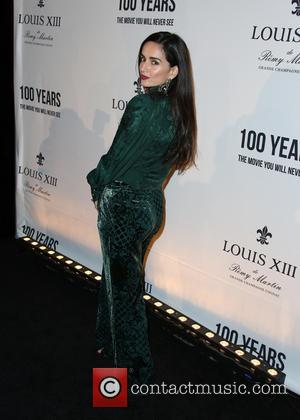 Ana de la Reguera - Louis XIII Celebration of '100 Years' The Movie You Will Never See, starring John Malkovich...