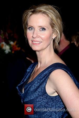 Cynthia Nixon - Opening night party for the New Group production Steve, held at the West Bank Cafe - Arrivals....