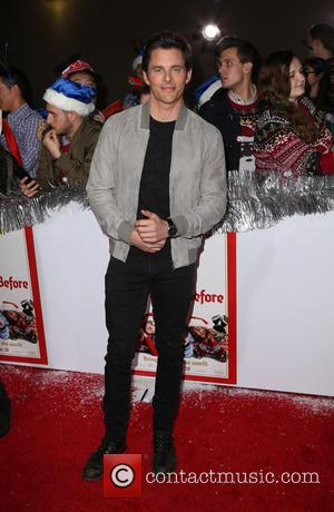 James Marsden - Los Angeles World Premiere of 'The Night Before' at The Theatre at The ACE Hotel - Arrivals...