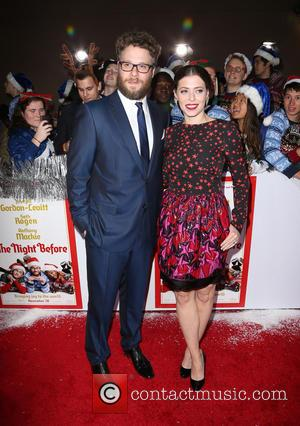 Seth Rogen , Lauren Miller - Los Angeles World Premiere of 'The Night Before' at The Theatre at The ACE...