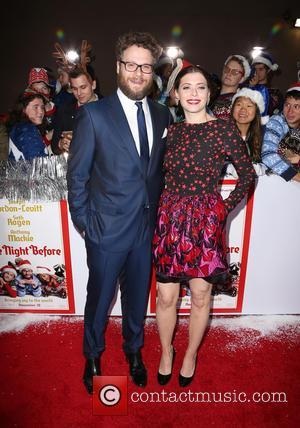 Seth Rogen and Lauren Miller