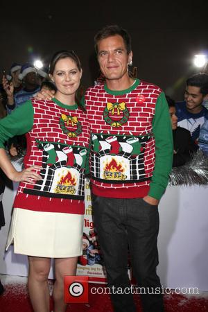 Michael Shannon , Kate Arrington - Los Angeles World Premiere of 'The Night Before' at The Theatre at The ACE...