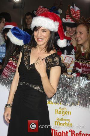 Perrey Reeves - Los Angeles World Premiere of 'The Night Before' at The Theatre at The ACE Hotel - Arrivals...