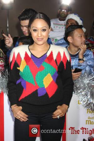 Tia Mowry-Hardrict - Los Angeles World Premiere of 'The Night Before' at The Theatre at The ACE Hotel - Arrivals...