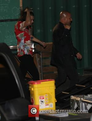 Harry Styles - One Direction arriving at ABC studios for Jimmy Kimmel Live! - Los Angeles, California, United States -...