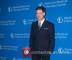 Michael Bublé - American Museum of Natural History Gala - Arrivals - New York, New York, United States - Thursday...
