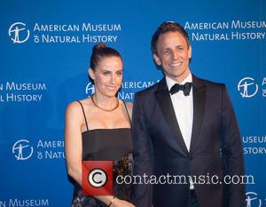 Seth Myers and Alexi Ashe