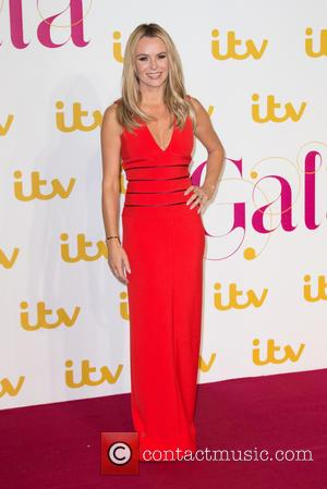 Amanda Holden - The ITV Gala held at the London Palladium - Arrivals at The London Palladium - London, United...