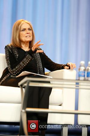 Gloria Steinem - Jessica Alba speaks during a keynote Q&A with Gloria Steinem at the Pennsylvania Conference for Women at...