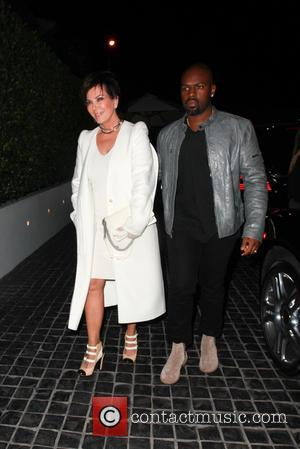 Kris Jenner , Corey Gamble - Kris Jenner out for dinner with her boyfriend at Cecconi's in Beverly Hills -...