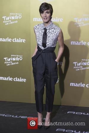Paz Vega - Marie Claire Prix de la Moda 2015 at the Callao cinema - Arrivals - Madrid, Spain -...