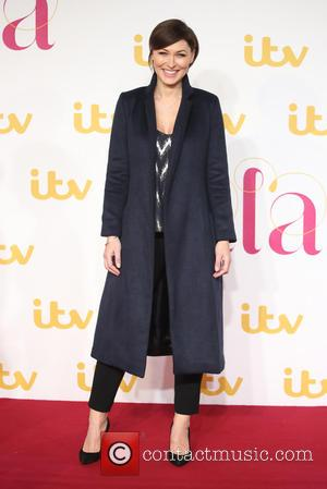 Emma Willis - The ITV Gala held at the London Palladium - Arrivals at London Palladium - London, United Kingdom...