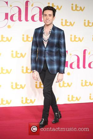 Nick Grimshaw - The ITV Gala held at the London Palladium - Arrivals at London Palladium - London, United Kingdom...