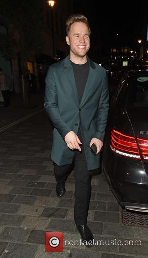 OLLY MURS - The ITV Gala afterparty held at Aqua - Departures - LONDON, United Kingdom - Thursday 19th November...